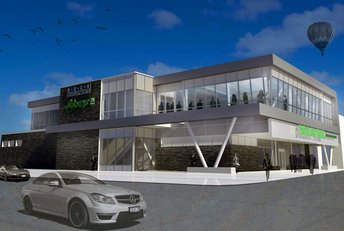 Dollar Tree & Rock Development, Lakeshore ON <br> General Contractor: Titan Group